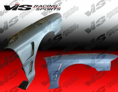 VIS Racing - Ford Mustang VIS Racing Venom Fenders - 94FDMUS2DVEN-007