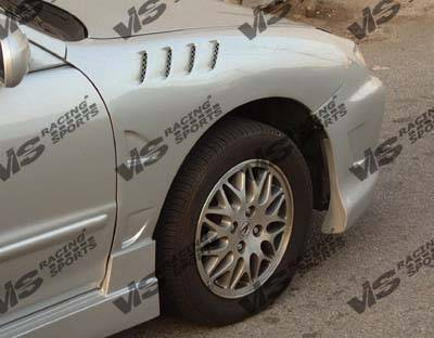 VIS Racing - Dodge Neon VIS Racing Laser Fenders - 95DGNEO4DLS-007