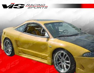 VIS Racing. - Mitsubishi Eclipse VIS Racing A Tech Widebody Front Fenders - 95MTECL2DATWB-007