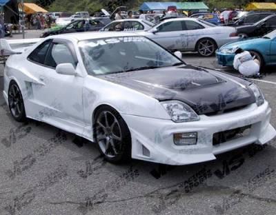 VIS Racing. - Honda Prelude VIS Racing Titanic Widebody Front Fenders - 97HDPRE2DTTWB-007