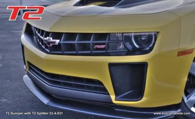 ACS - Chevrolet Camaro ACS T2 Front Bumper - 33-4-03T2