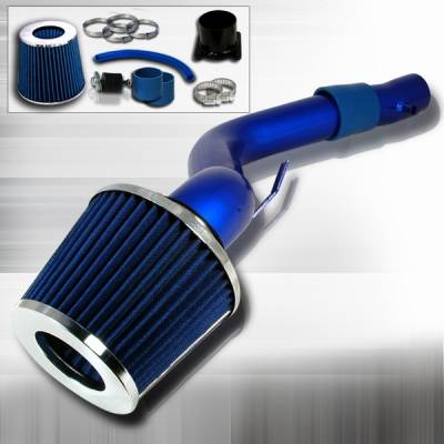 Custom Disco - Nissan Altima Custom Disco Blue Cold Air Intake - AF-CALT02V6BL