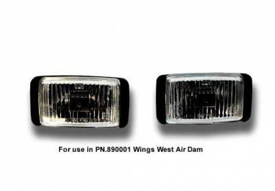 Wings West - Chevrolet S10 Wings West Fog Light Set - 301062