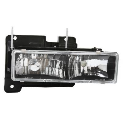 APC - GMC CK Truck APC Headlights with Black Housing - 403660HLDB