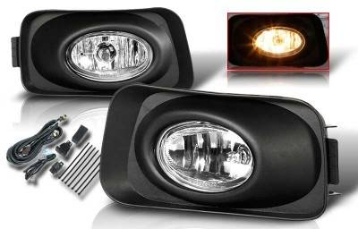 WinJet - Acura TSX WinJet OEM Fog Light - Smoke - Wiring Kit Included - WJ30-0001-11