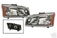 Custom - Chrome Crystal Headlights Amber
