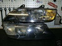 Custom - Crystal Clear Headlights - Amber
