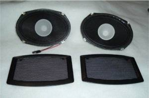 CPC - Ford Mustang CPC Rear Speaker & Grille Kit - AUD-000-019