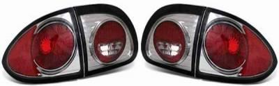 APC - APC Taillights with Smoke Housing - 404116TLS