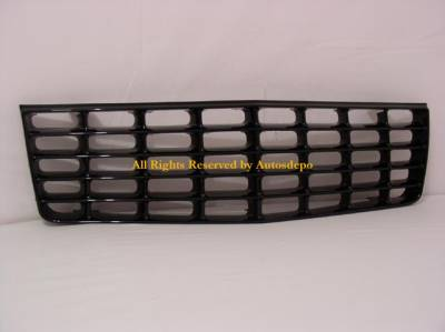 Custom - Front Black  Grille - Badgless