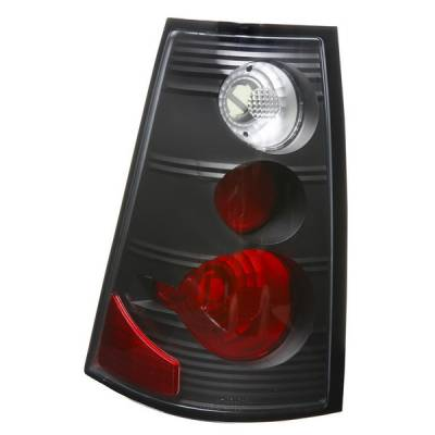 APC - Ford Explorer APC Euro Taillights with Black Housing - 404132TLB