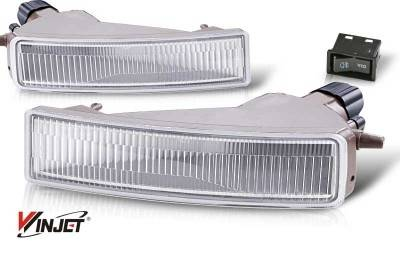 WinJet - Scion xB WinJet OEM Fog Light - Clear - WJ30-0068-09