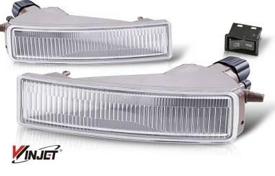 WinJet - Scion xB WinJet OEM Fog Light - Clear - WJ30-0068-09