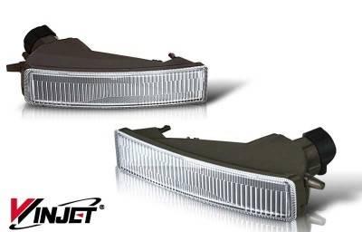 WinJet - Scion xB WinJet OEM Fog Light - Smoke - WJ30-0068-11