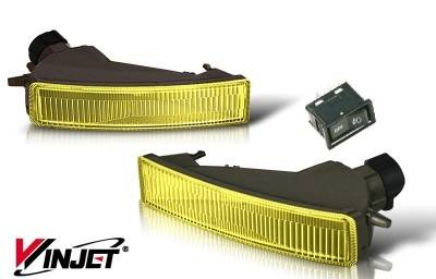 WinJet - Scion xB WinJet OEM Fog Light - Yellow - WJ30-0068-12