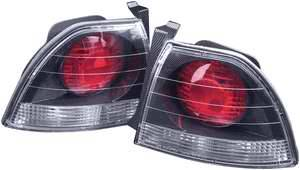 APC - APC Euro Taillights with Carbon Fiber Housing - 404141TLCF