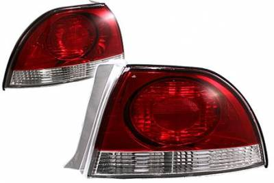 APC - APC Red and Clear Taillights - 404141TL-RC