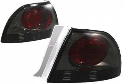APC - APC Taillights with Smoke Housing - 404141TLS