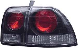 APC - APC Euro Taillights with Carbon Fiber Housing - 404142TLCF