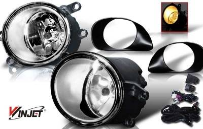WinJet - Toyota Yaris WinJet OEM Fog Light - Smoke - Wiring Kit Included - WJ30-0073-11