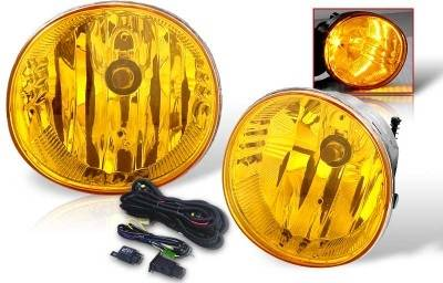 WinJet - Toyota Rav 4 WinJet OEM Fog Light - Yellow - Wiring Kit Included - WJ30-0077-12