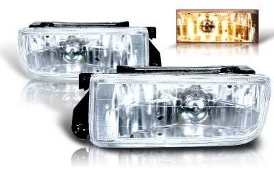 WinJet - BMW 3 Series WinJet OEM Fog Light - Clear - WJ30-0079-09