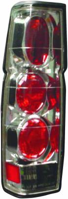 APC - Nissan Pickup APC Euro Taillights with Chrome Housing - 404170TLR