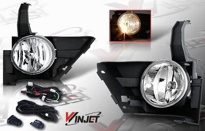 WinJet - Honda CRV WinJet OEM Fog Light - Smoke - Wiring Kit Included - WJ30-0082-11