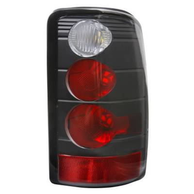 APC - GMC Yukon APC Euro Taillights with Black Housing - 404203TLB