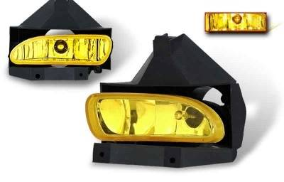 WinJet - Ford Mustang WinJet OEM Fog Light - Yellow - WJ30-0086-12