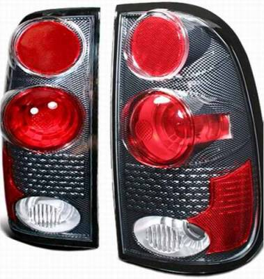 APC - APC Euro Taillights with Carbon Fiber Housing - Gen 2 Style - 404530TLCF