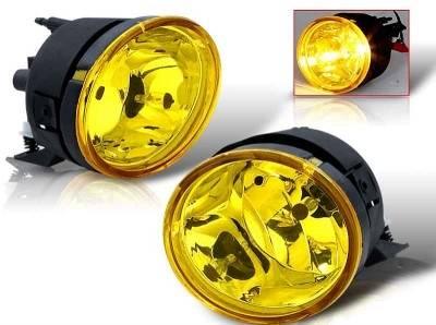 WinJet - Nissan Titan WinJet OEM Fog Light - Yellow - WJ30-0091-12