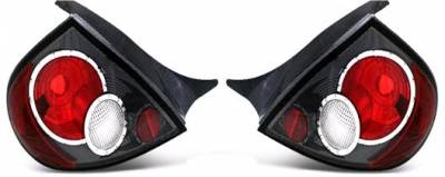 APC - APC Euro Taillights with Carbon Fiber Housing - Gen 2 Style - 404577TLCF