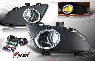 WinJet - Mazda 6 WinJet OEM Fog Light - Clear - Wiring Kit Included - WJ30-0093-09