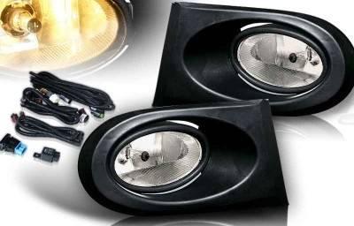 WinJet - Acura RSX WinJet OEM Fog Light - Smoke - Wiring Kit Included - WJ30-0099-11