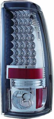 APC - Chevrolet Silverado APC LED Taillights with Clear Lens - 406636TL