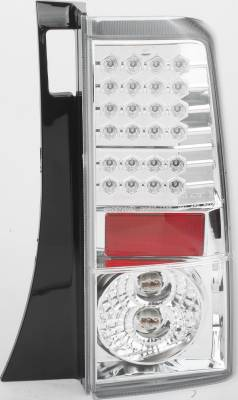 APC - Scion xB APC LED Taillights with Clear Lens - 406710TL