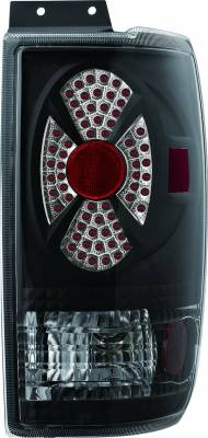 APC - Ford Expedition APC Diamond Cut Taillights with Black Housing - 407511TLB