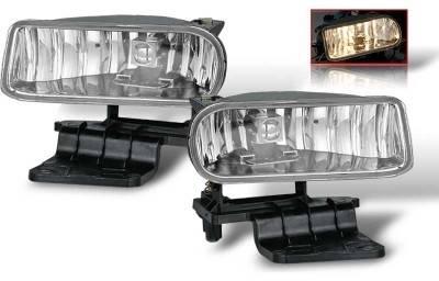 WinJet - Chevrolet Silverado WinJet OEM Fog Light - Smoke - WJ30-0125-11
