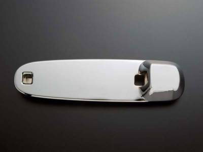 All Sales - All Sales Chrome Billet Door Bucket Handles - Left and Right Sides without Lock - 408C