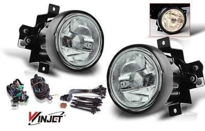 WinJet - Honda Element WinJet OEM Fog Light - Smoke - Wiring Kit Included - WJ30-0139-11