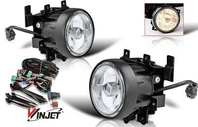 WinJet - Honda Element WinJet OEM Fog Light - Clear - Wiring Kit Included - WJ30-0140-09