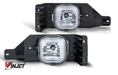 WinJet - Ford F250 WinJet OEM Fog Light - Clear - WJ30-0151-09