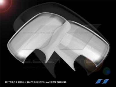 SES Trim - Toyota Tacoma SES Trim ABS Chrome Mirror Cover - MC107