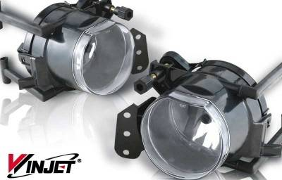WinJet - BMW X5 WinJet OEM Fog Light - Clear - WJ30-0161-09
