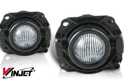 WinJet - BMW 3 Series WinJet OEM Fog Light - Clear - WJ30-0162-09