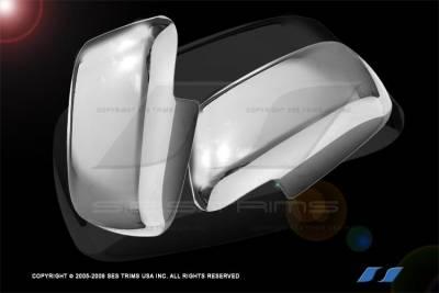 SES Trim - Nissan Pathfinder SES Trim ABS Chrome Mirror Cover - MC117F