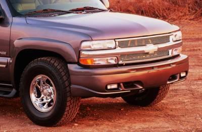 Xenon - Chevrolet Silverado Xenon Air Dam with Fog Light Openings - 4191