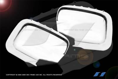 SES Trim - Honda Ridgeline SES Trim ABS Chrome Mirror Cover - MC127