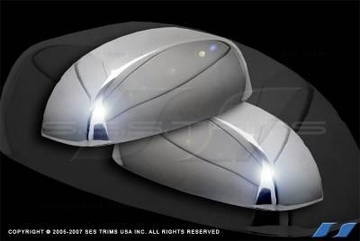 SES Trim - GMC Yukon SES Trim ABS Chrome Mirror Cover - MC145R